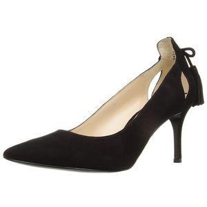 Nine West Modesty suede heels with tassels sz 7.5